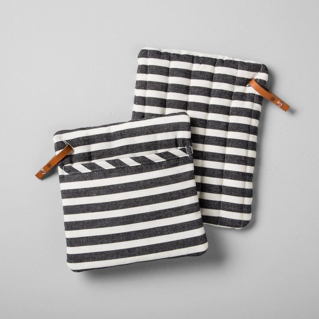 Hearth & Hand With Magnolia Striped Pot Holders
