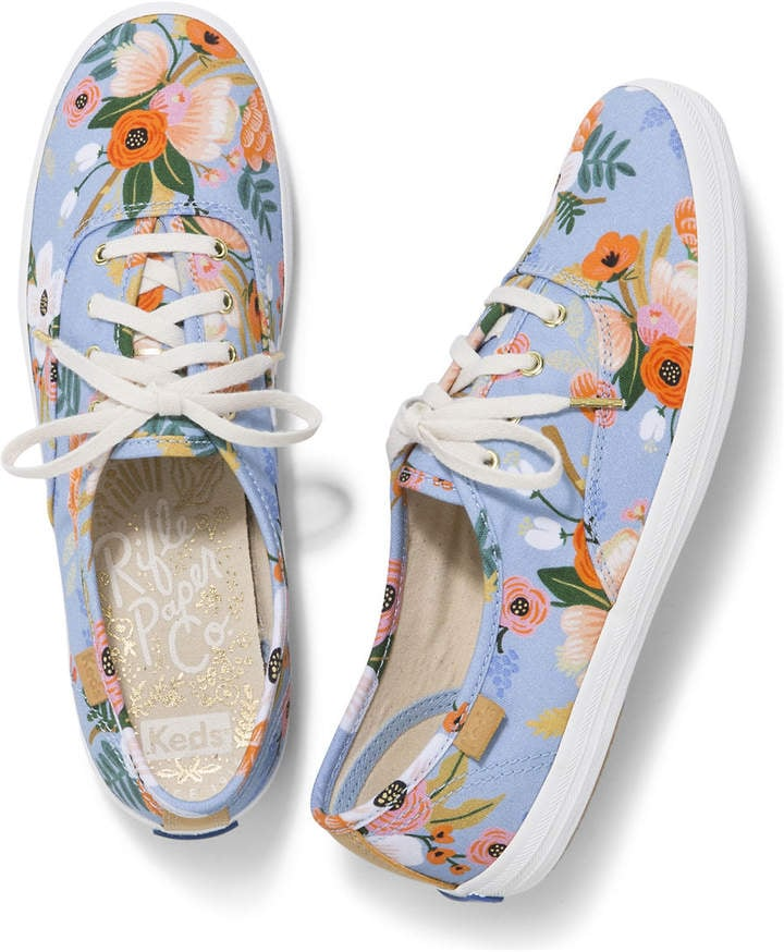 6b05382eba2 Keds X Rifle Paper Co. Champion Sneakers in Lively Floral