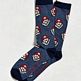 Super Mario Print Socks