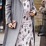 Meghan in a Sleek Soia & Kyo Coat