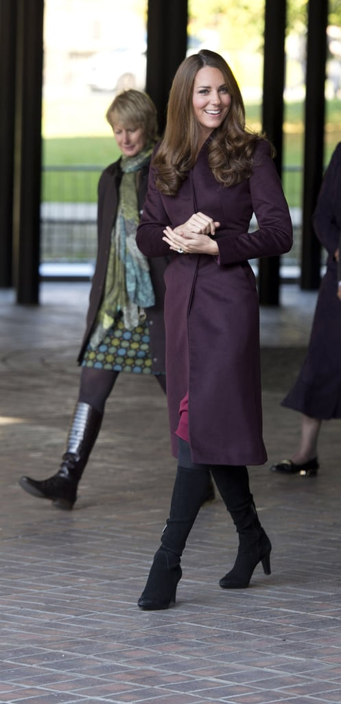 Kate Middleton toured the Newcastle Civic Centre.