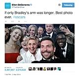 Ellen DeGeneres Shattered a Record and Broke Twitter