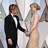 Keith Urban Grabbed Nicole Kidman's Butt on the Oscars Red Carpet