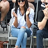 How to Wear Jeans: Meghan Markle