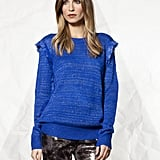 The fringe detailing on this House of Harlow sweater ($275) lends just the right amount of textural intrigue.