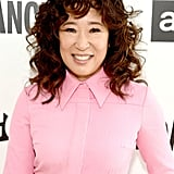 Sandra Oh's Curly Bangs