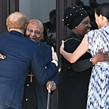 Prince Harry and Meghan Markle Hugging on South Africa Tour