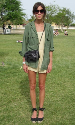 Picture of Alexa Chung at Coachella Lacoste Party