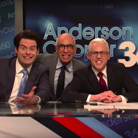 Anderson Cooper White House Turmoil Cold Open SNL Video
