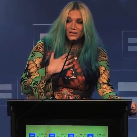 Kesha's Inspirational Speech at LGBT Equality Dinner | Video