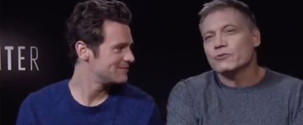 Jonathan Groff and Holt McCallany Speaking French Video