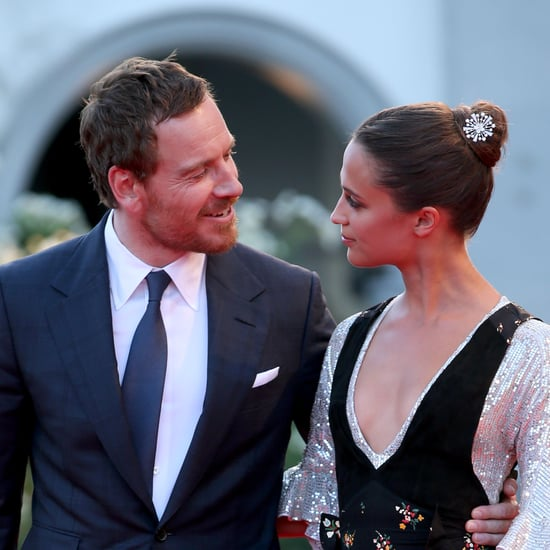 Michael Fassbender and Alicia Vikander Venice Film Festival