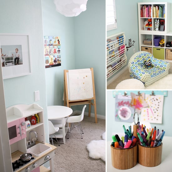 Kids Playroom and Library Ideas