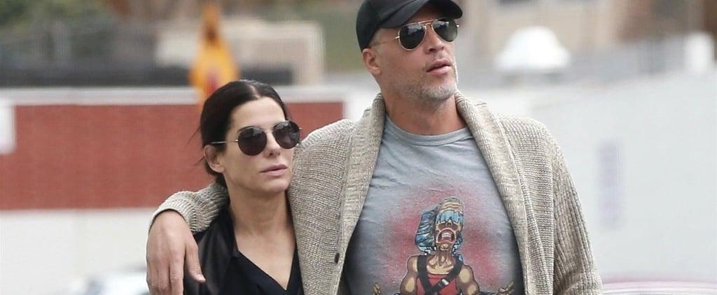 Sandra Bullock's Boyfriend Bryan Randall Wearing Gold Band