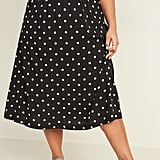 Old Navy Patterned Plus-Size Midi Skirt