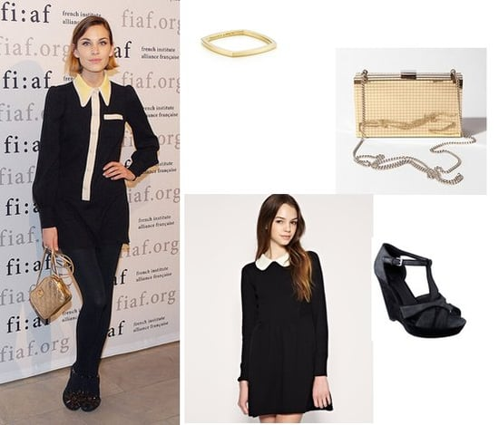 Get Alexa Chung's Chic School Girl Look, As Seen at the Trophee Des Arts Gala in Paris
