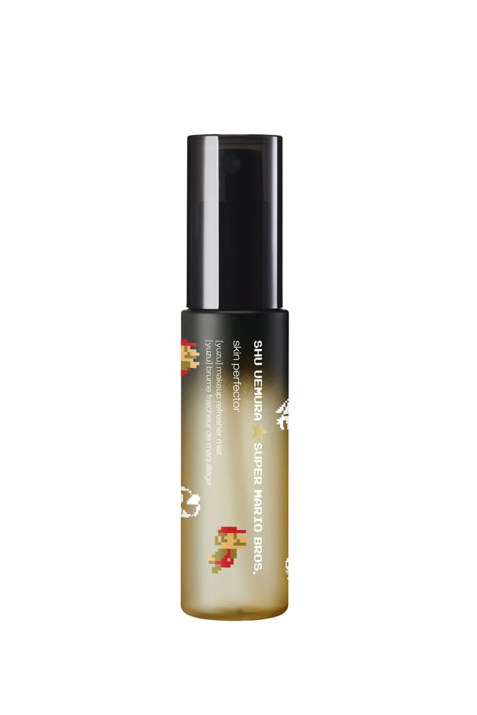 Shu Uemura x Super Mario Bros Skin Perfector Makeup Refresher Mist in Yuzu, $39
