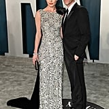 Kate Bosworth and Michael Polish at the Vanity Fair Oscars Afterparty 2020