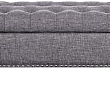 Pulaski Hinged Top Button Tufted Bench