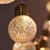 Urban Outfitters Glitter Globe String Lights