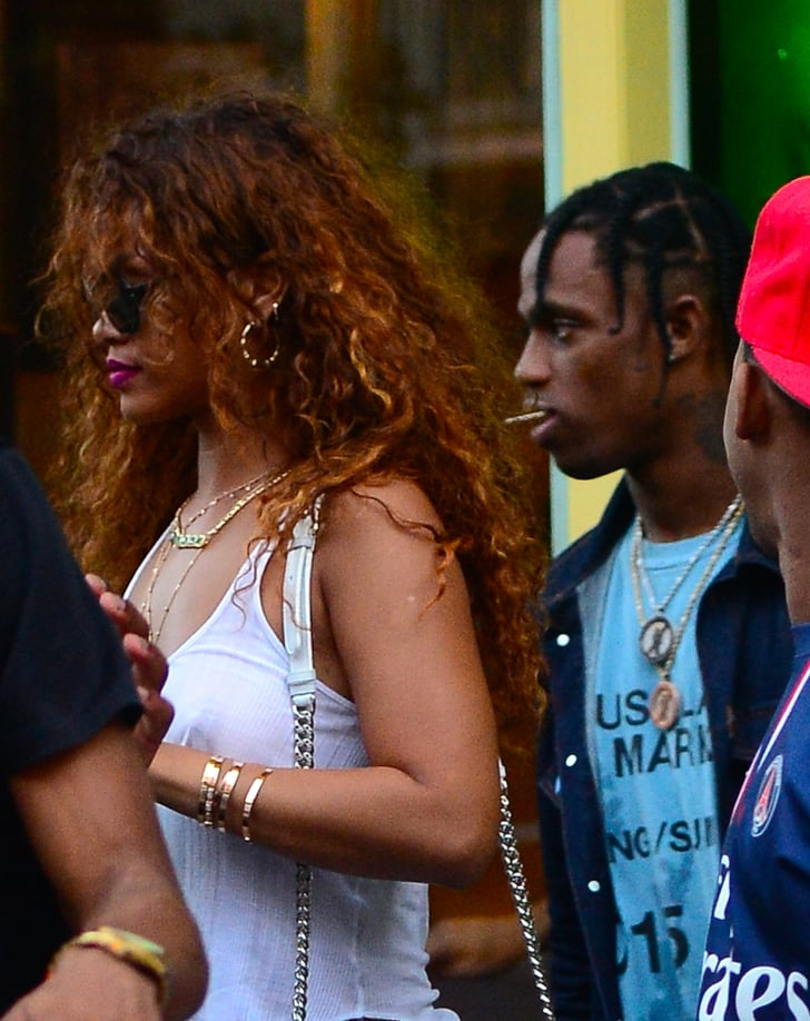 Rihanna travis scott tmz celebrity