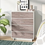 Zipcode Design Chicopee Wood Four-Drawer Chest