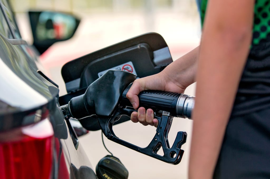 Use apps like Cheap Gas! or the website GasBuddy.com to check out where the cheapest gas is around you.