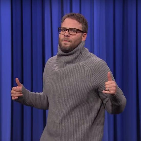 Seth Rogen Lip Sync Battle on Fallon Video