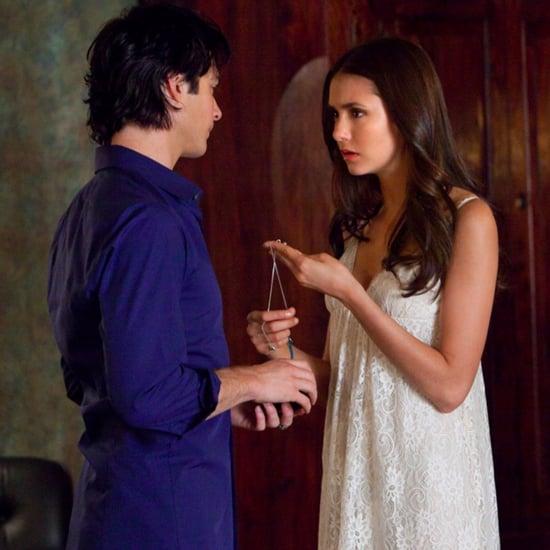 Nina Dobrev The Vampire Diaries Set Picture January 2017