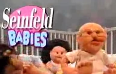 """Seinfeld Babies"" on Muppets Tonight"