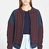 Tibi Silk Bomber Jacket ($685)