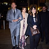 Jennifer Lopez and Alex Rodriguez on Mother's Day 2017