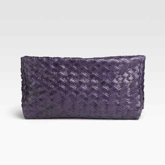 The Look For Less: Miu Miu Intreccio Woven Clutch