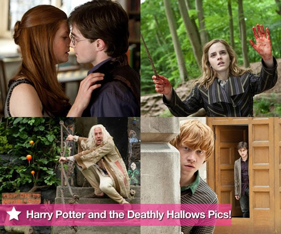 See New Photos From Harry Potter and the Deathly Hallows Featuring Daniel Radcliffe, Emma Watson, Rupert Grint and Rhys Ifans