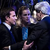 Bradley and Suki caught up with Secretary of State John Kerry, who is also a fluent French speaker.