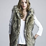 We love the hippie-chic vibe of 6 Shore Road's Faux Fur Vest ($175) — plus, it's reversible.