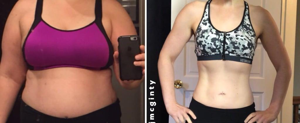 80-Pound Beachbody Weight-Loss Transformation