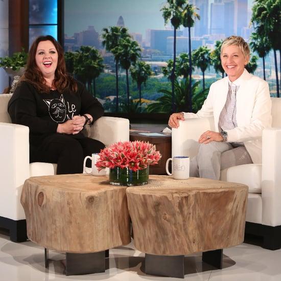 Melissa McCarthy Talks Daughter's Weird Obsession on Ellen