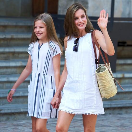 Queen Letizia's Uterque Sandals August 2017