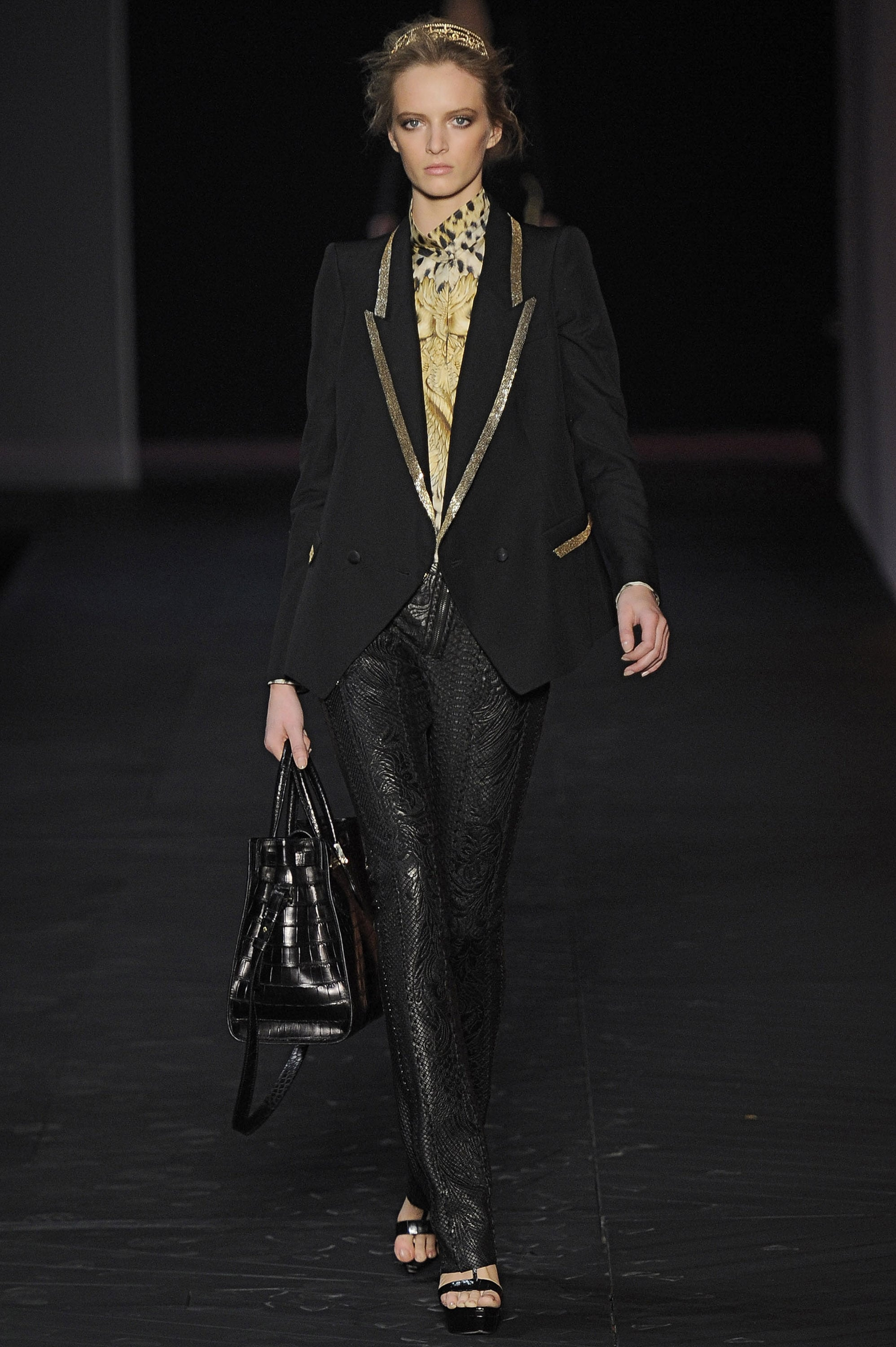 Roberto Cavalli, Spring-Summer 2011 at Milan Fashion Week