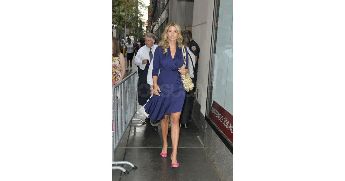 Ivanka Trump at the Today Show. | Pictures of Ivanka Trump After Giving  Birth | POPSUGAR Celebrity Photo 5