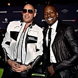 Pictured: Vin Diesel and Tyrese