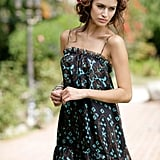 This printed babydoll dress comes complete with a modern high-low hemline.  Boulee Juanita Dress ($152)