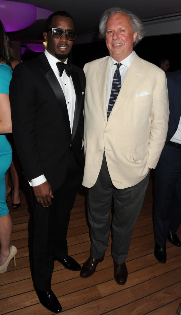 Diddy attended Vanity Fair and Gucci's party.