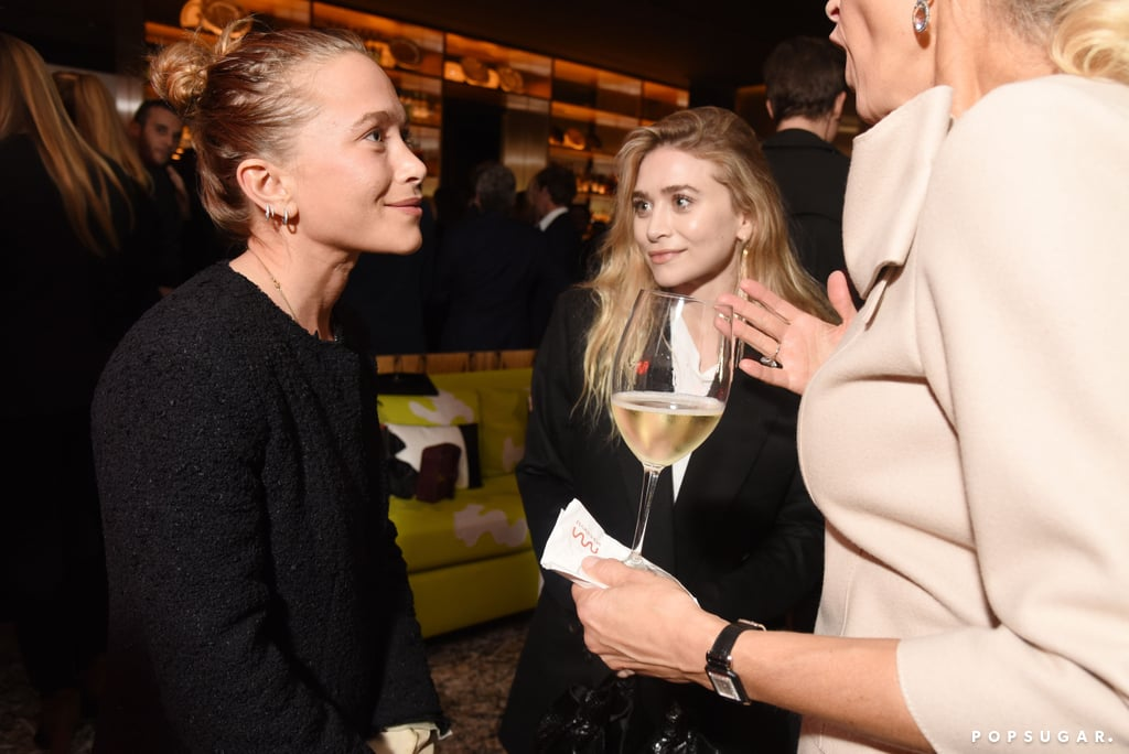 Mary-Kate Olsen and Olivier Sarkozy at NYC Event Nov. 2017