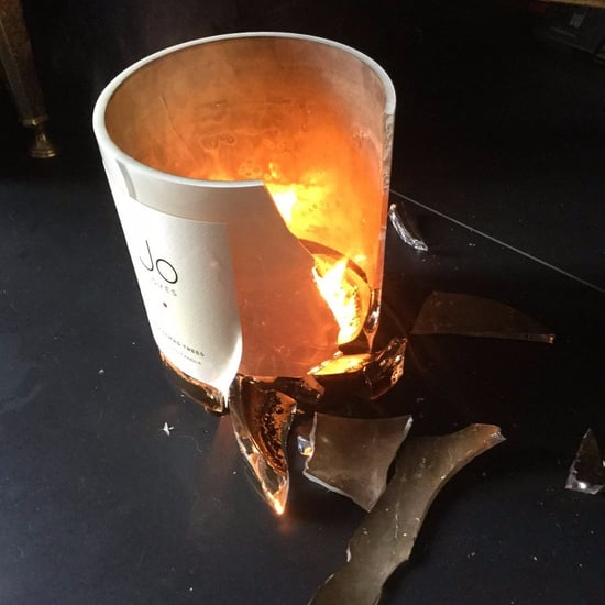 J.K. Rowling's Candle Explodes