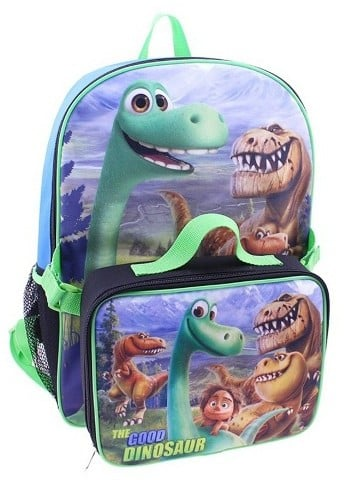 The Good Dinosaur Backpack With Lunch Kit