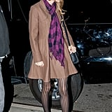 Taylor Swift spent time with Harry Styles in NYC.