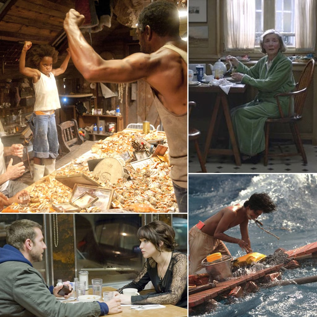 Food Scenes in Oscar Movies 2013
