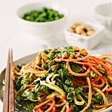 Sesame Zucchini Noodle Salad